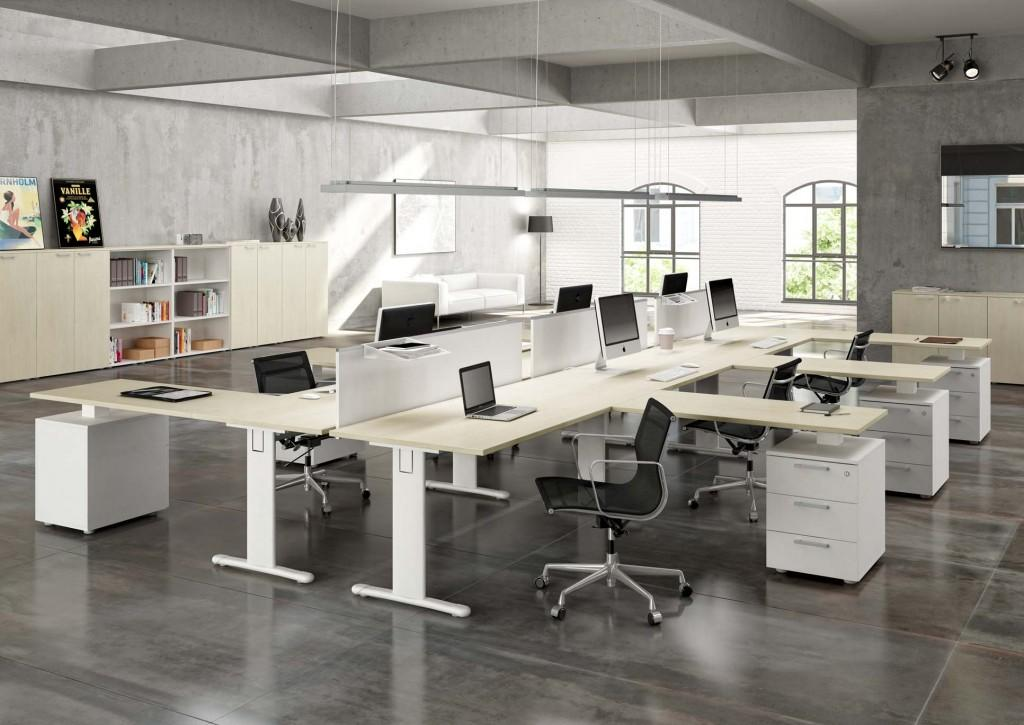 Galli mobili per uffici gamba a t prodotti for Galli arredamenti