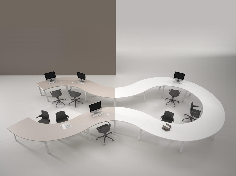 Galli mobili per uffici gamba a cavalletto prodotti for Galli arredamenti